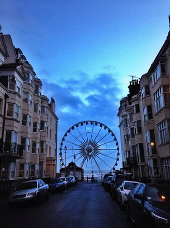 Brightonwave : The Big Wheel at the end of the road.