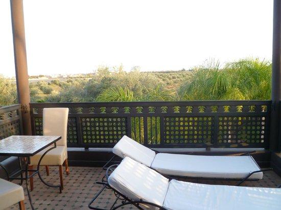 der balkon photo de villa mano marrakech tripadvisor. Black Bedroom Furniture Sets. Home Design Ideas