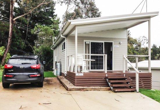 Katoomba Falls Tourist Park: Wentworth cabin no.3