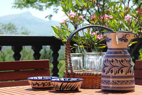 Villa La Croix Basque : Détente face aux montagnes et petits déjeuners plein Sud