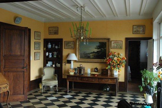 Villa La Croix Basque : Salon