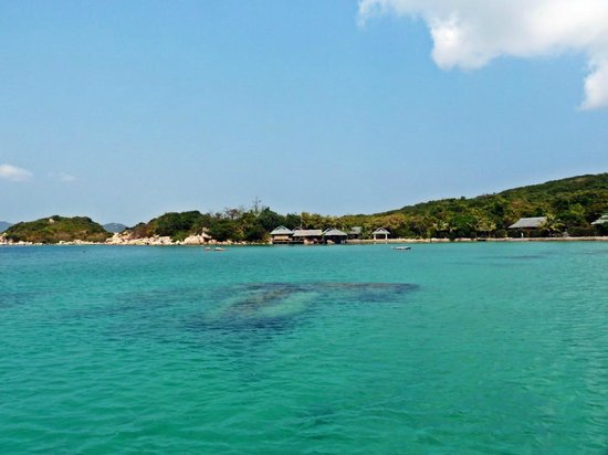 Whale Island Resort : Die Bucht