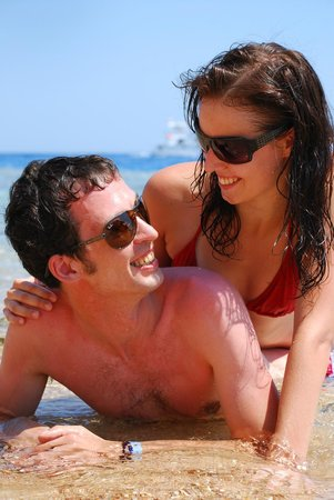 Sharm Plaza Hotel : On the beach 1