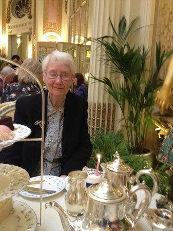 Palm Court: My mum and her unexpected birthday cake