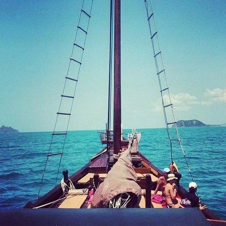 Chantara, Junk Boat: Great view