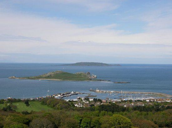 Feelgood Activities: View of picturesque Howth - Feelgood Scubas Home!