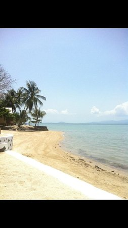 Milky Bay Resort : Spent my birthday on the beach