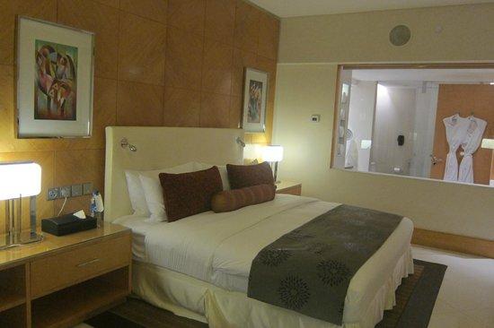 InterContinental Lagos: comfortable bed