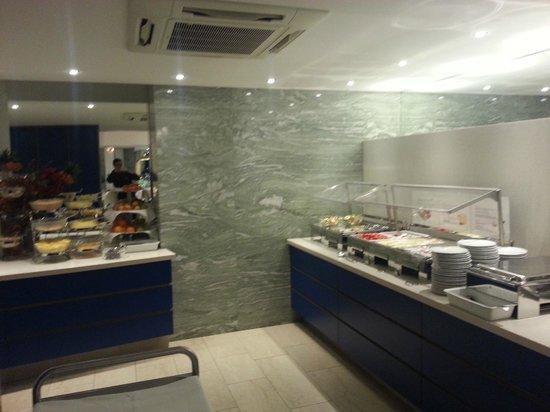 Hotel Zipser : Buffet