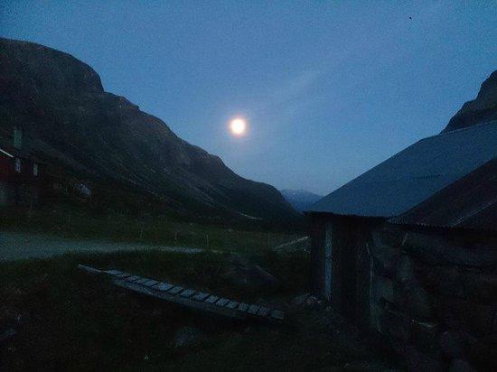 Vang, Norwegen: natt