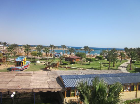 The Desert Rose Resort: Вид из номера 6338