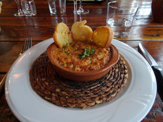 Restaurant Arroenia : Cassolette de txanguro