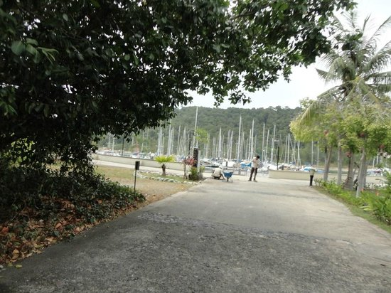 Vivanta by Taj Rebak Island, Langkawi: jetty area