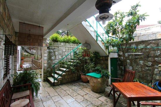 Apartments Lili Lopud: Terrase