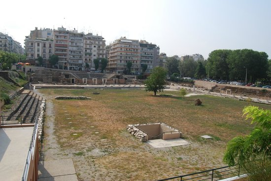 The Greek Agora and Roman Forum : Rzymskie forum
