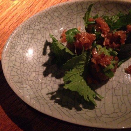 Nahm Restaurant: Hors d'oeuvre,Nahm 2014