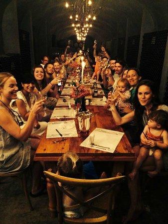 Montpellier De Tulbagh: Celebration meal