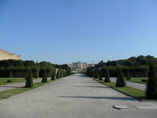 Schloss Belvedere: парк