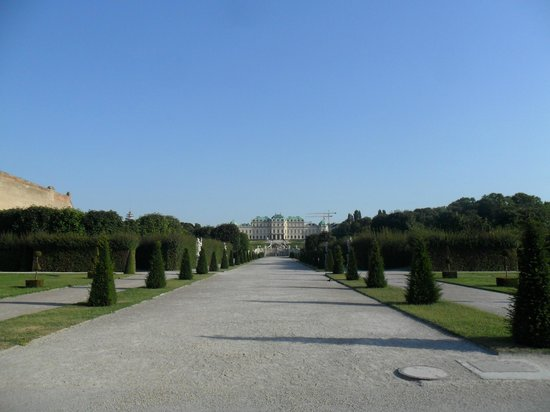 Belvedere Palace Museum : парк