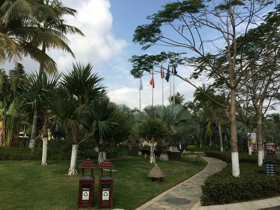 Ваньнин, Китай: территория отеля