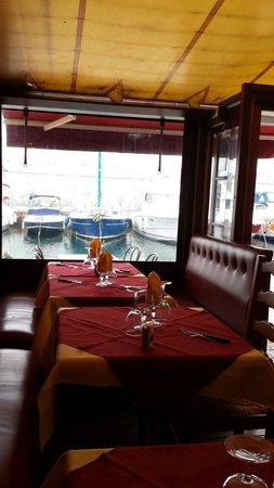 Restaurant le Drakkar : Vue du drakkar