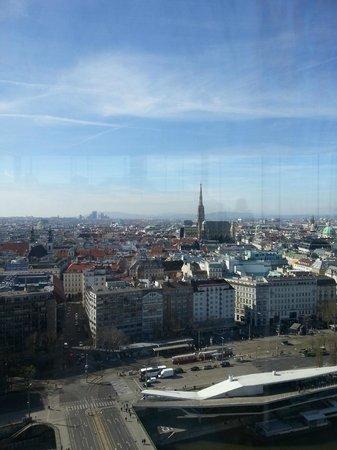 Sofitel Vienna Stephansdom: Вид на Вену