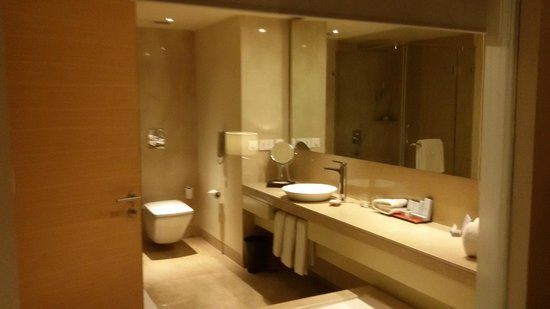Radisson Blu Plaza Hotel Hyderabad Banjara Hills: Presenting the bathroom