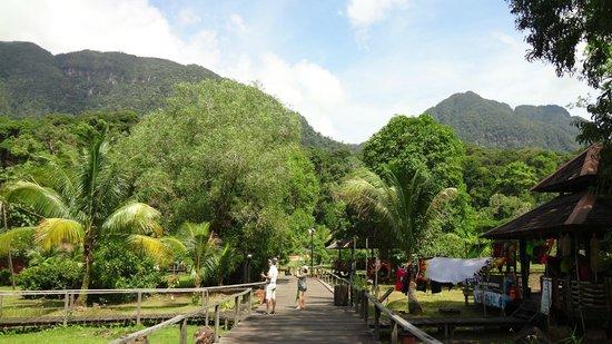 Museumsdorf Sarawak Cultural Village: Окрестности деревни