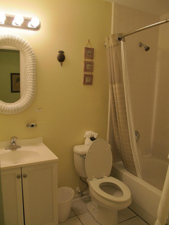 Marco Island Lakeside Inn : Bathroom of room 206