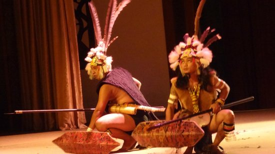 Museumsdorf Sarawak Cultural Village: Этнографическое шоу