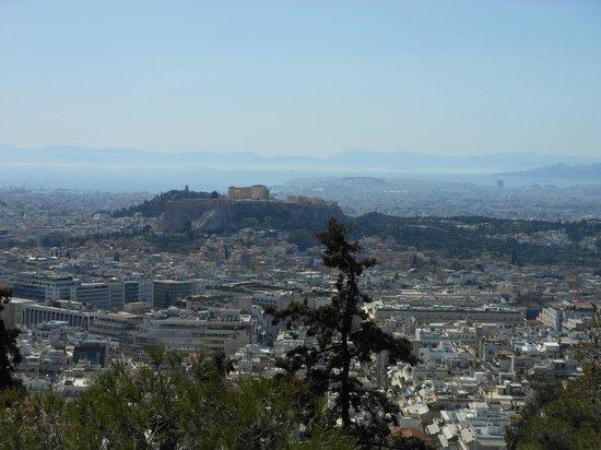 Mount Lycabettus : Panoramablick vom Berg II