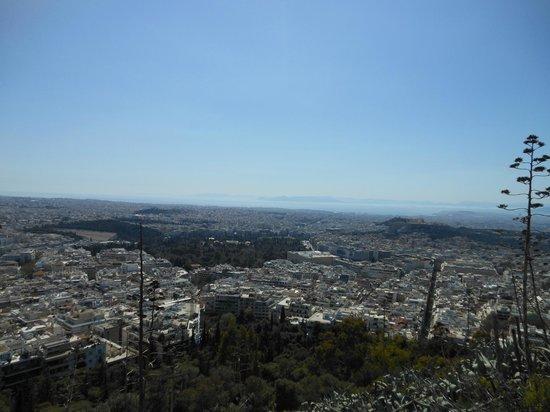 Mount Lycabettus : Panoramablick vom Berg I