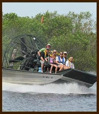 Malabar, FL: Airboat Ride