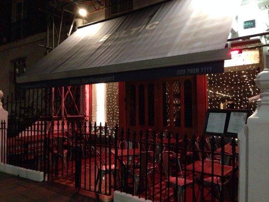 Baltic Restaurant & Bar : L'entrée