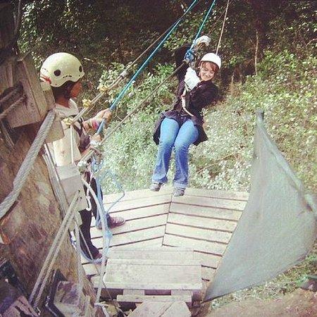 Tsitsikamma Canopy Tours: Touching down