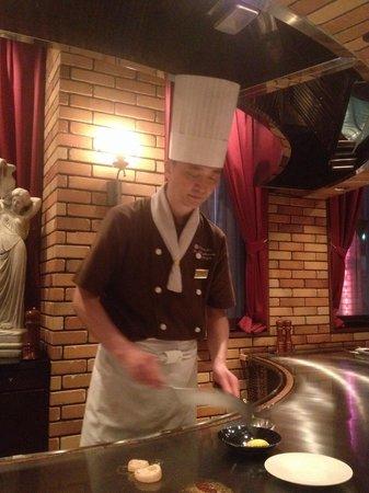 Beefsteak Kawamura, Ginza: Our chef - the Kobe artist