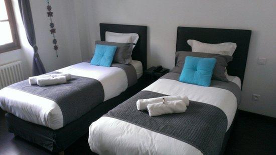 Hotel Le Tivoli: La chambre 15.