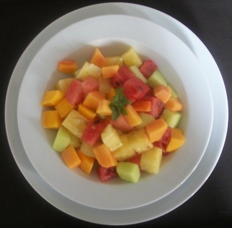 Aladdin Restaurant : Fruit salad