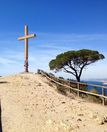 La Cruz de Benidorm: Made it to the top