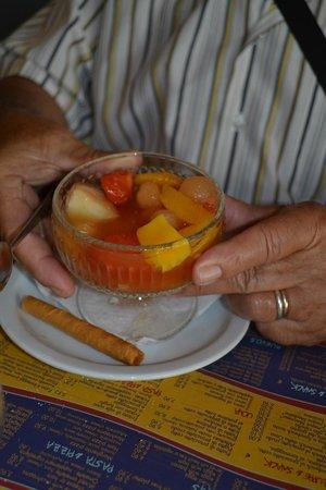 New Orleans Cafe : Salade de fruit