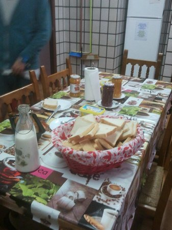 The Melting Pot Hostel Tarifa: Frühstück inklusive