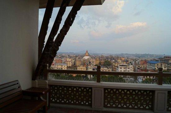 Hyatt Regency Kathmandu: Room terrace view