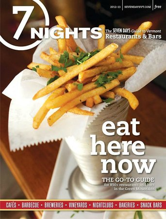 Parker House Inn and Restaurant : pommes frites and article