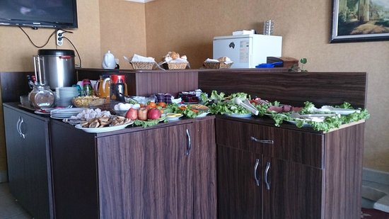 Meddusa Hotel: Breakfast
