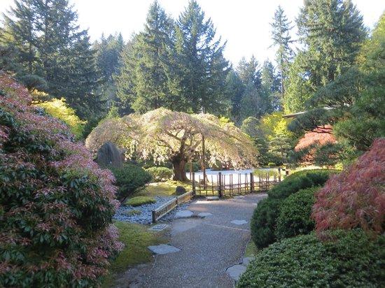 Portland Japanese Garden: Японский сад