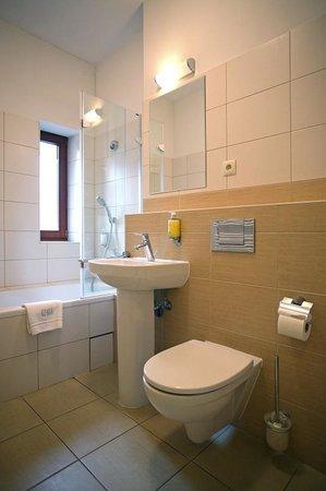 Red Brick Apartments: Bathroom