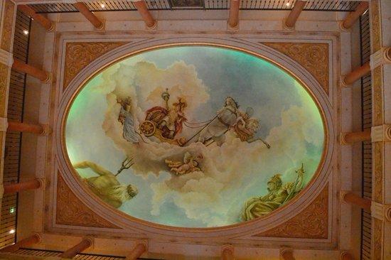 "Hotel ""Colosseo"" Europa-Park : Le plafond de l'acceuil"