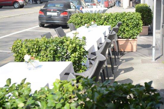 Hotel Glaernischhof: Terrasse