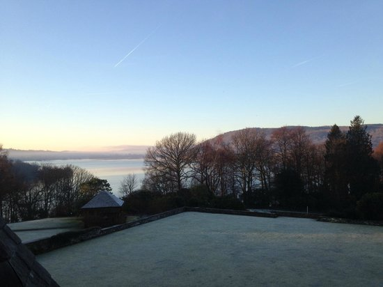 Cragwood Country House Hotel: The other morning view from Room 1