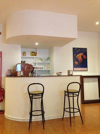 Hotel Aquarium : Coffee bar